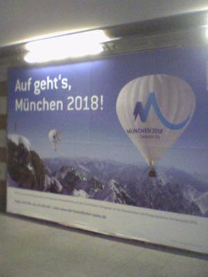 candidature de Munich aux J.O. 2018